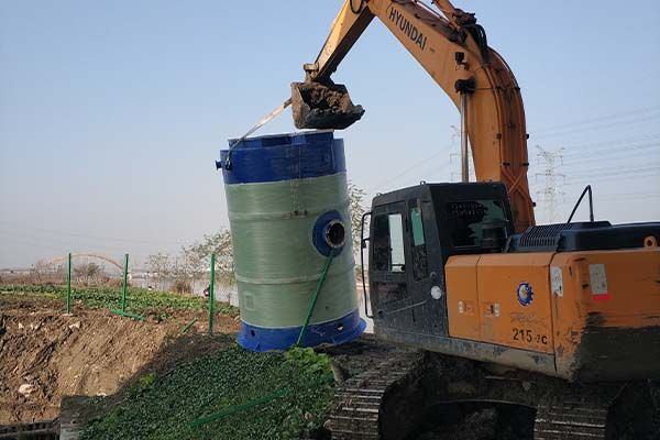 Intergrated prefabricated pumping station-3